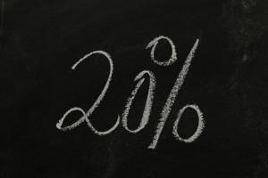 sleva 20 procent